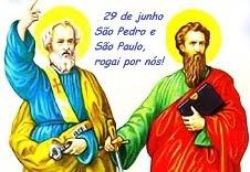 PEDRO E PAULO: COLUNAS DA IGREJA