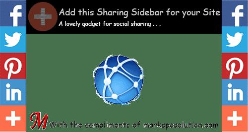 AddThis Sharing Sidebar