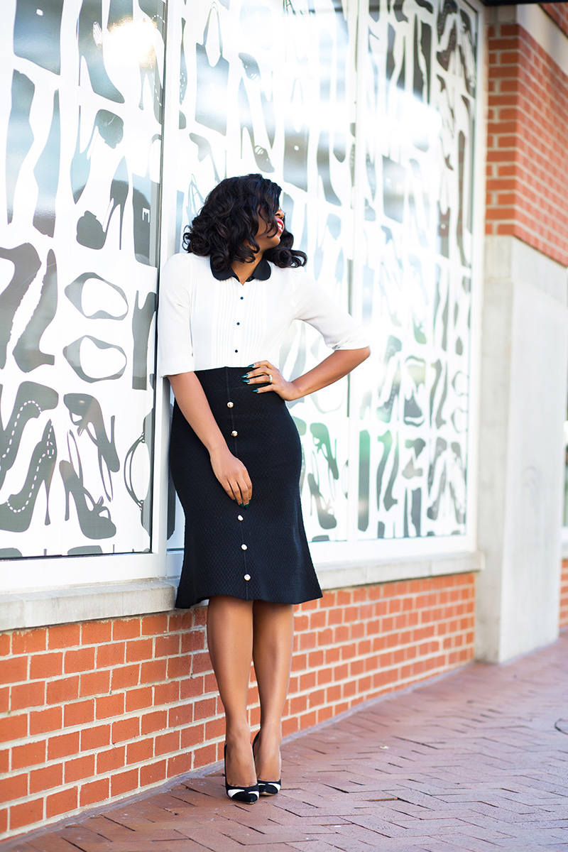 Chicwish Midi Skirt, gianvito rossi pumps, www.jadore-fashion.com