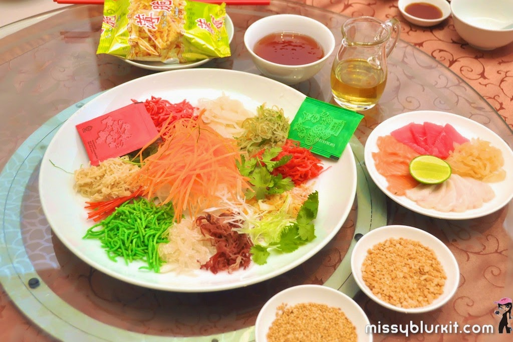 Foodie Trail, Tai Zi Heen, Prince Hotel and Residence, CNY, yee sang,