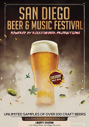 Save on passes & Enter to win VIP tickets to the San Diego Beer & Music Festival - July 8!