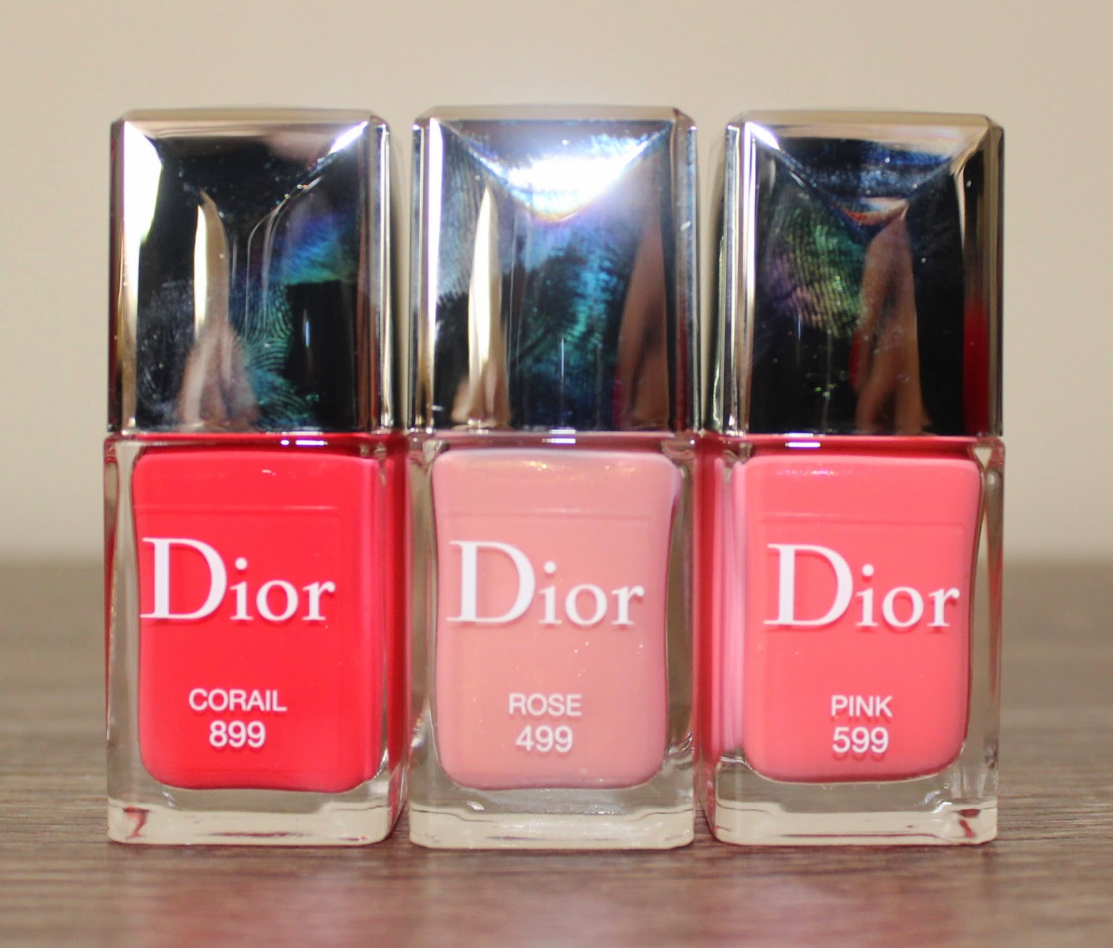 Dior Vernis Spring 2015 in Rose, Pink & Corail