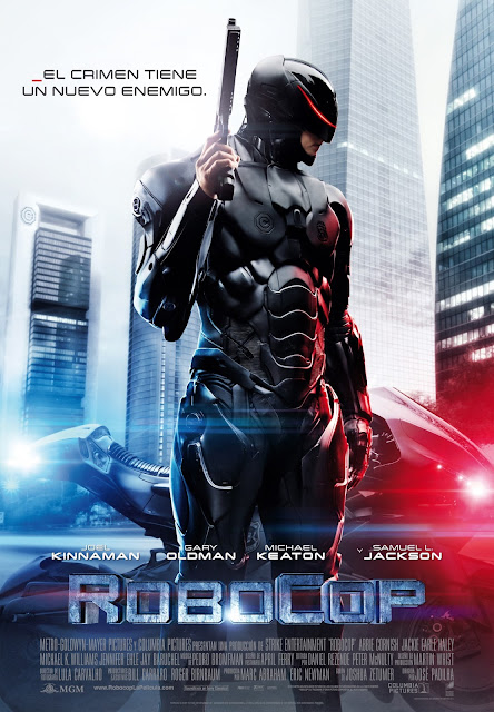 RoboCop, póster español