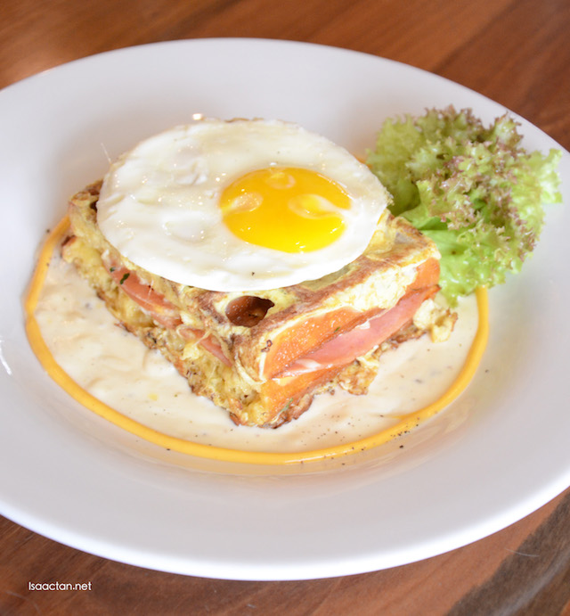 Double Deck Croque Monsieur - RM18