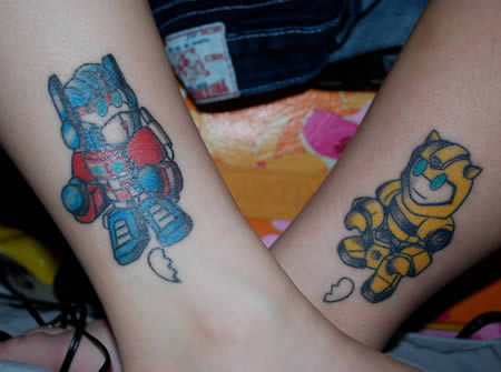 Matching Tattoos on Matching Tattoos For Couples
