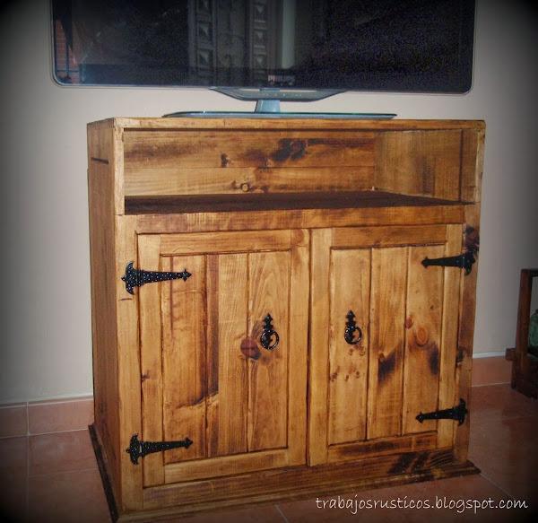 imagenes de muebles rusticos para tv - Muebles ecológicos y gratis Ecocosas