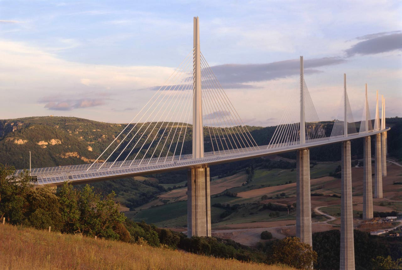 millau viaduct Other articles where millau bridge is discussed: midi-pyrénées: spanning the  river, the magnificent millau viaduct (opened 2004) is the world's tallest road.