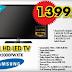 "A101 Samsung 40"" (102 Ekran) Full HD Led Tv : 1399 TL"