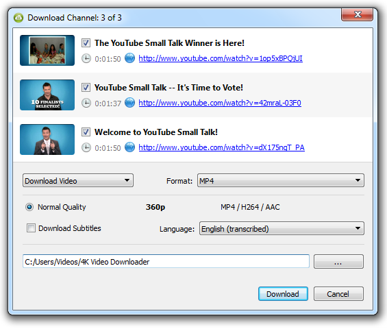 youtube downloader en ligne