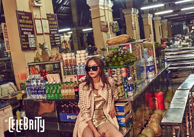 Kim Ah Joong - The Celebrity Magazine April Issue 2015