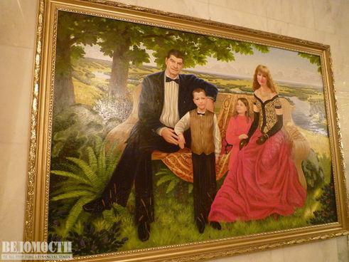 фото картины семьи Брынцалова