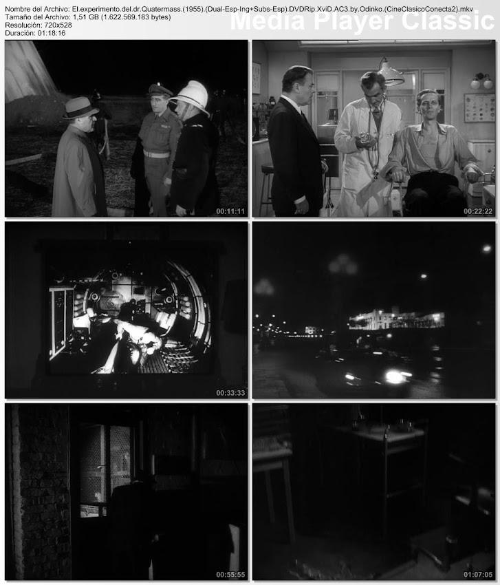 Secuencias, imágenes:  El experimento del Dr. Quatermass | 1955 | The Quatermass Experiment (The Quatermass Xperiment)