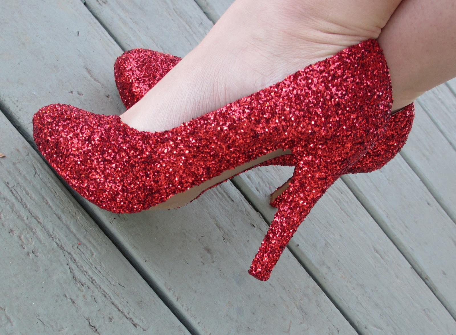 How to Make Glitter Pumps How to Make Glitter Pumps new pictures