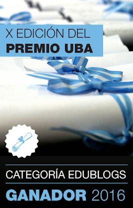 PREMIO UBA 2016. Ganamos por Cuarta Vez
