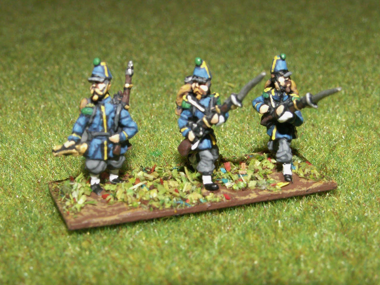 Infanterie légère sous le second empire