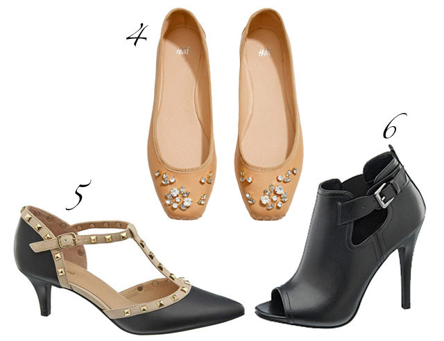 Deichmann blogger collection heels