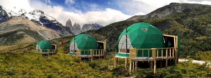 Ecocamp Patagonia Resort, Cozy Hotel at the world end