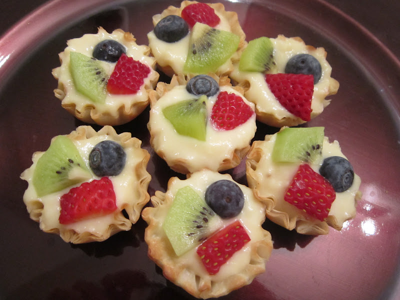 Sweet Beginnings: Recipe Swap: Mini Fruit Tarts