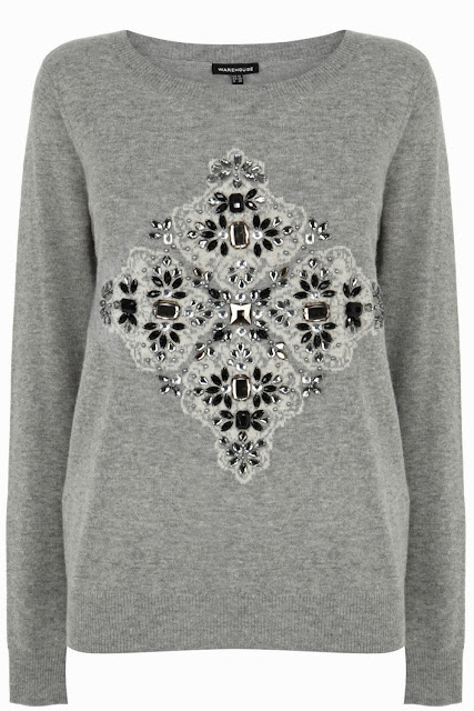 warehouse grey jumper