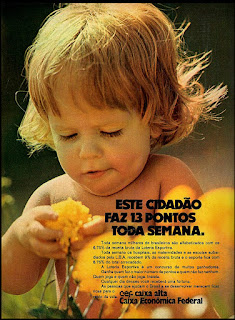 Caixa Econômica Federal,  os anos 70; propaganda na década de 70; Brazil in the 70s, história anos 70; Oswaldo Hernandez;
