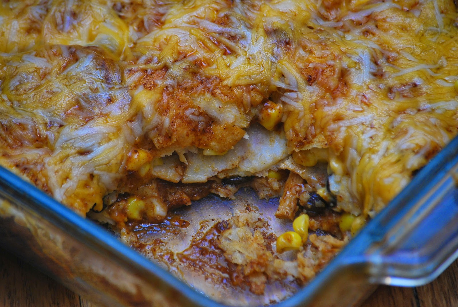 My story in recipes: Chicken Enchilada Casserole