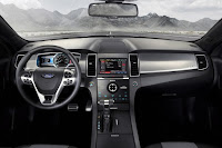 2015 New Ford Taurus Super high output dashboard view