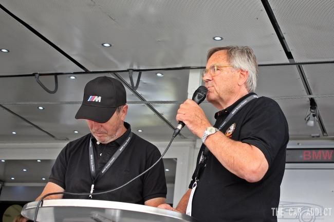 Jochen Neerpasch BMW Oldtimer Grand Prix 2013