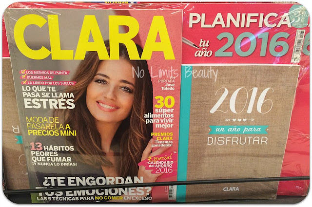 Regalos revistas enero 2016: Clara