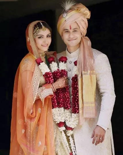 Soha Ali Khan Kunal Khemu Marriage Photos