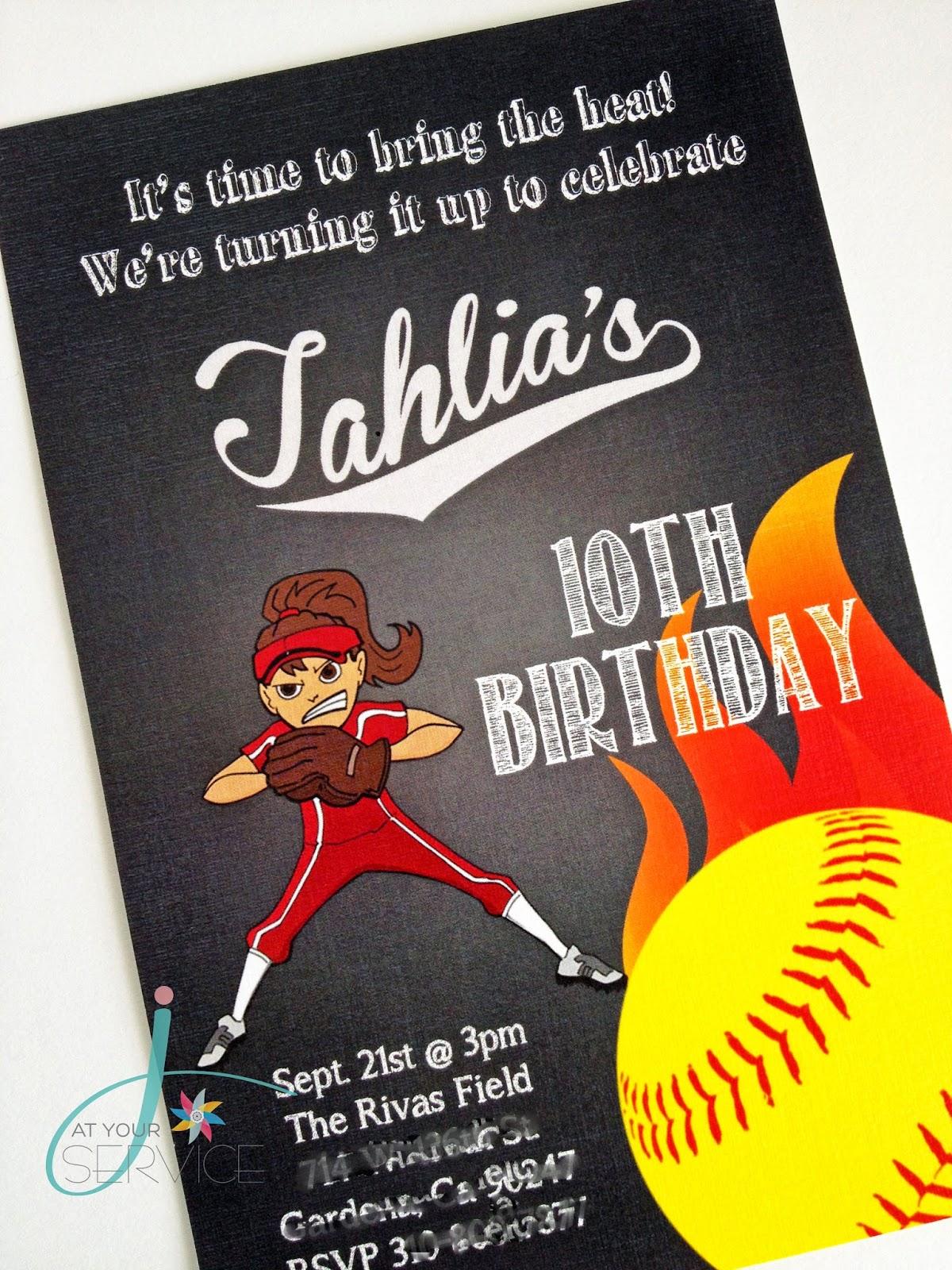 Similiar Softball Party Invitations Keywords – Softball Birthday Invitations