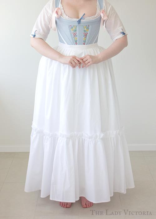 lawn petticoat front veiw