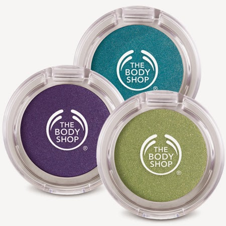 holidays christmas eyeshadow from bodyshop