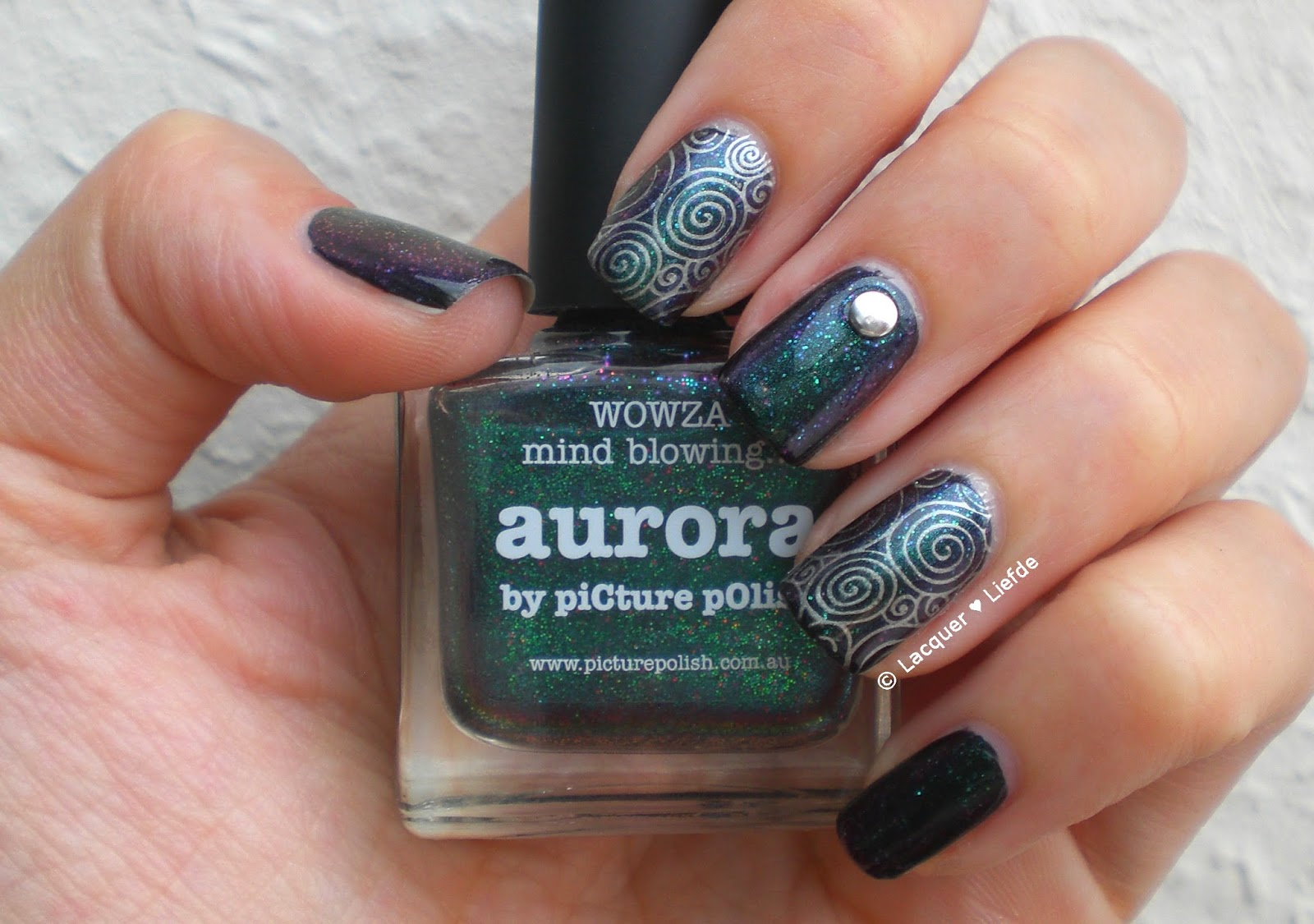 piCture pOlish Aurora Stamping MoYou Sailor