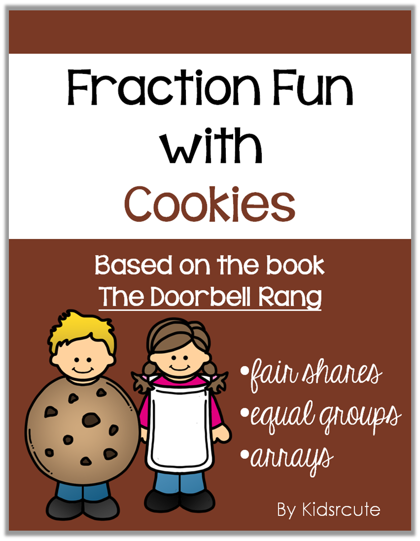 creative lesson cafe fraction fun with cookies. Black Bedroom Furniture Sets. Home Design Ideas