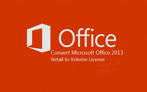 office 2013 retail to kms