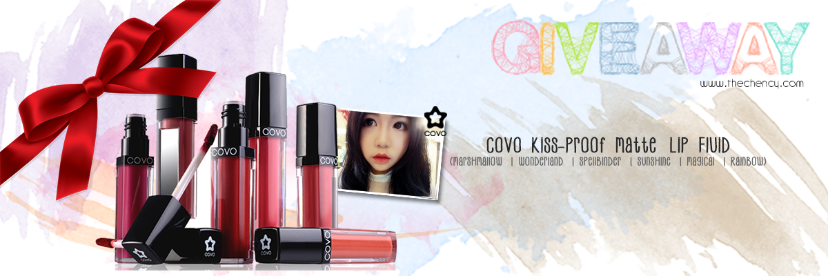[GIVEAWAY] COVO Kiss-Proof Matte Lip Fluid