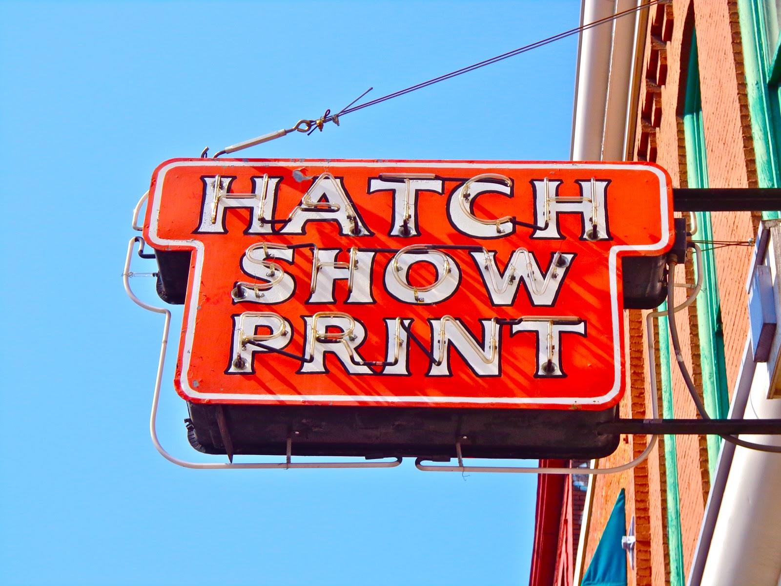 Pocketful of Ginch: Hatch Show Print in Nashville