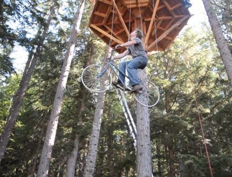 lif menggunakan basikal