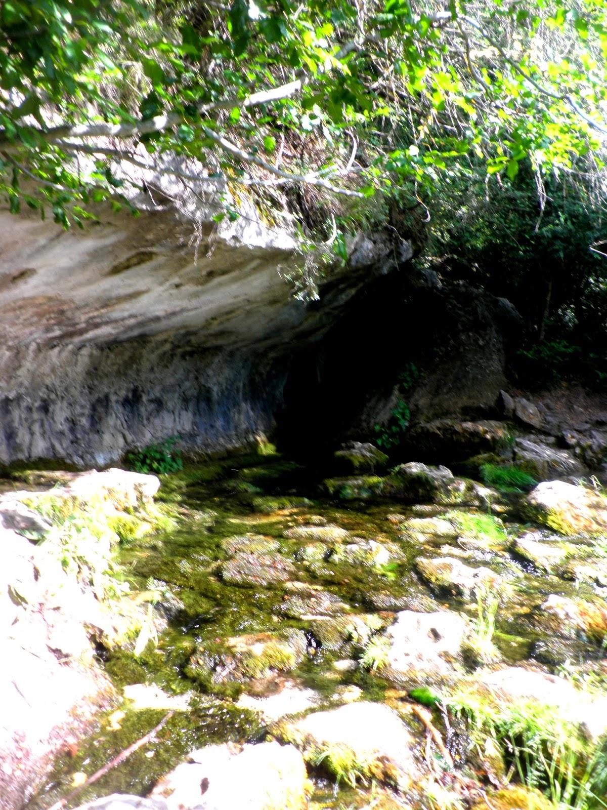 Manantial donde nace el río Cuervo