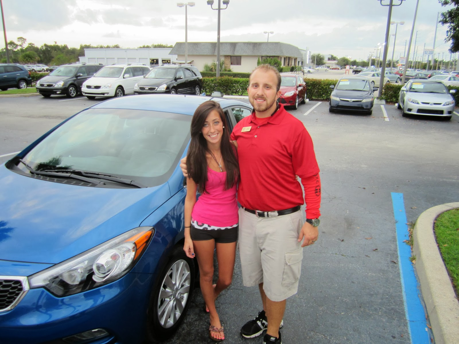 We Would Like To Congratulate Amanda On The Purchase Her Brand New 2014 Kia  Forte From Coltan! Amanda Is The Latest In Happy Bev Smith Kia Customers!