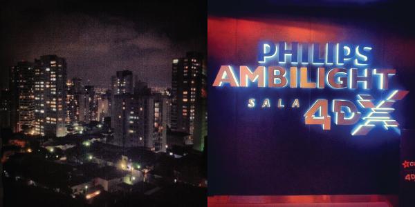 São Paulo a noite, Cinema 4D shopping JK Iguatemi