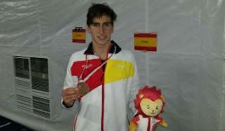 NATACIÓN - Doble podio español en el cierre del Mundial Junior en Singapur
