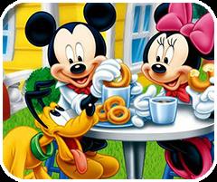 Mickey chơi trốn tìm, game tre em