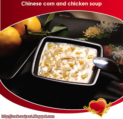 Chinese Corn and Chicken Soup, Cook Recipes, Cook Recipes for Soup, Simple Chicken Recipes