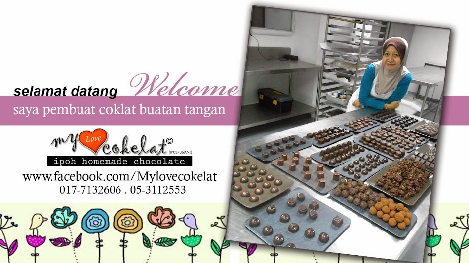 MYLOVECOKELAT Ipoh homemade chocolate