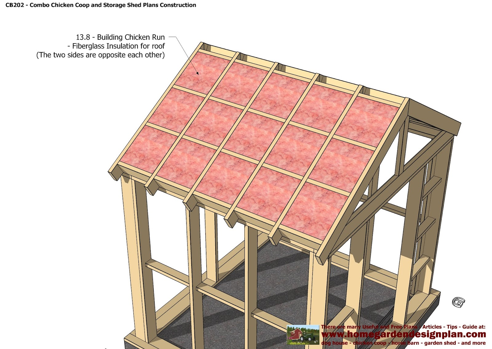 cb202 combo plans chicken coop plans construction