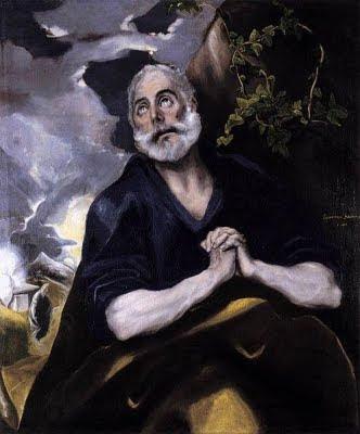 Les llàgrimes de Sant Pere ('El Greco')