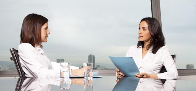 Entrevista de trabajo y empresa