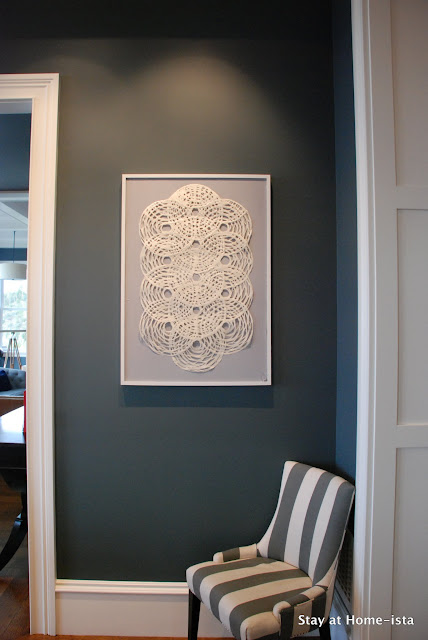 linen and paper art