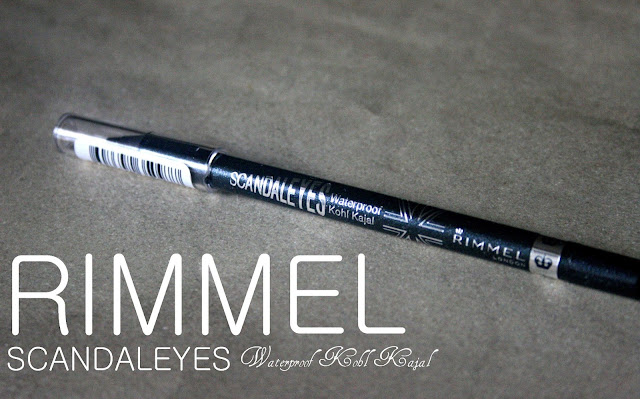 Rimmel Scandaleyes Waterproof Kohl Kajal in Sparkling Black